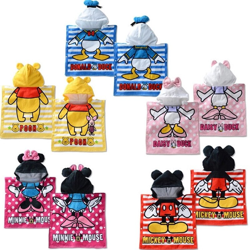 Serviette de plage pour bébé 15 Styles   Serviette de bain pour bébé, motif Animal de dessin animé, peignoir/serviette de dessin animé LL001