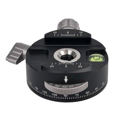 360 ° панорамный Revolv весы пластинчатые зажимы головка штатива для камеры Макросъемка для canon nikon sony