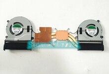 Laptop/Notebook CPU/GPU Radiador de arrefecimento Heatsink & Fan para Asus zenbook NX500JK NX500J NX500 UX501 13N0-QTA0801 13NB03N1AM0701