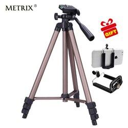 Metrix wt3130 liga de alumínio tripé da câmera para projetor dvr smartphone dslr telefon camcorderdv protable mini gorillappod tripé