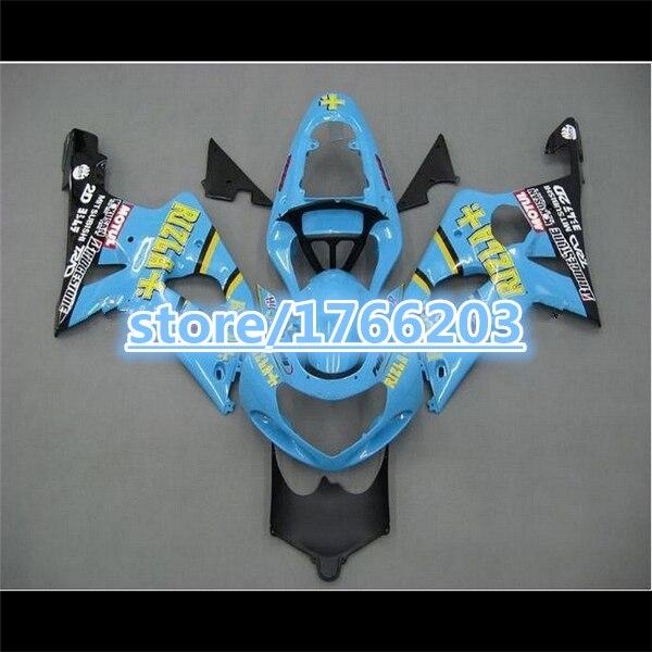 ضوء الأزرق هدية طقم ل GSX-R1000 GSXR1000 GSX R1000 GSXR 1000 K2 K1 00 01 02 2000 2001 2002 Fairings BBF