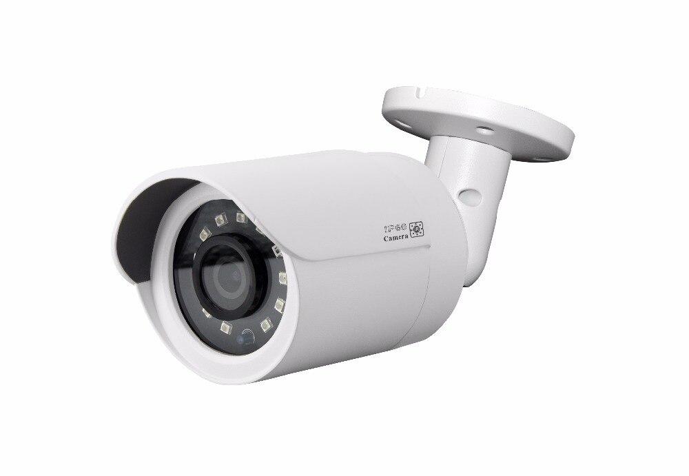 H.265 5MP sensor de Sony al aire libre IR visión de vigilancia, cámaras IP, P2P IR bala cctv cámaras trabajar con Hikvision NVR continúo cámara