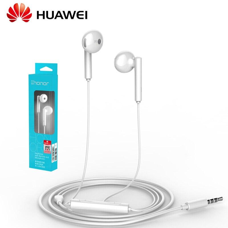 Auriculares originales Huawei Honor AM115 para Huawei P10 P9 P8 Mate9 Honor 8 con enchufe de 3,5mm auriculares con cable controlador de altavoz