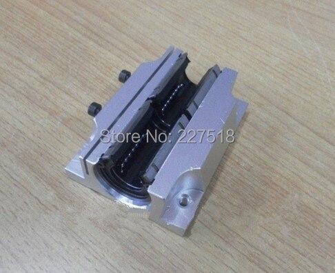 2pcs TBR16LUU 16mm Linear Ball Bearing Block