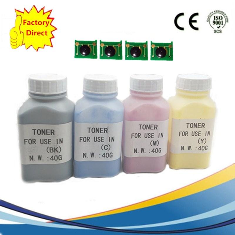 Color de relleno láser Kits de pigmento en polvo de tóner + LaserJet Pro 3500 de 3550 H2670A Q2670A H2671A H2673A Q2673A impresora