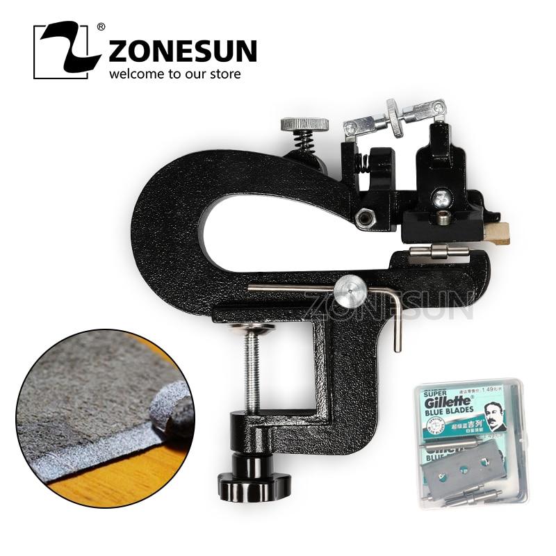 Zonesun-آلة تقشير الجلد اليدوية ، أداة تقشير الجلد ، فاصل قطع الحواف
