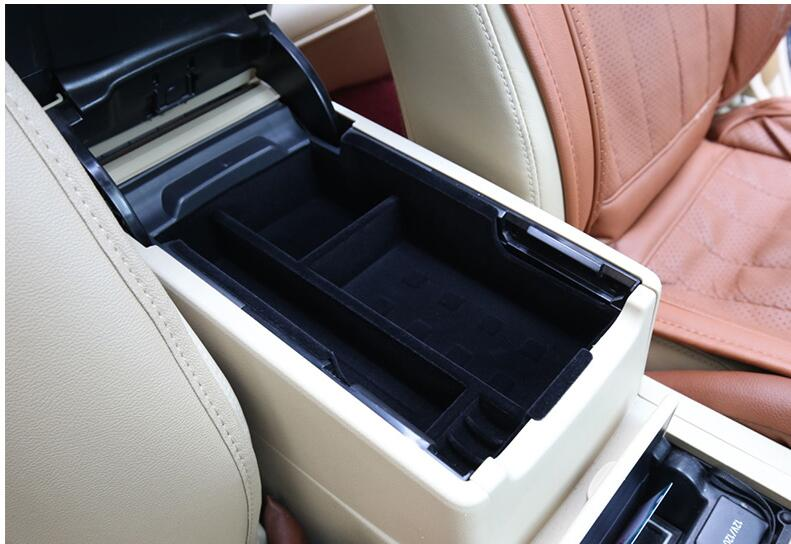 Coche-estilo Interior Central de almacenamiento reposabrazos contenedor caja para Toyota Camry V50 V55 2012, 2013, 2014, 2015, 2016