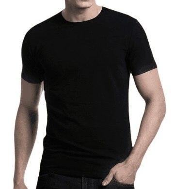 Contrast Trimmed 180-190GSM Spring Summer 100% Australia Merino Wool Mens Short Sleeve T Shirt, Casual Taste, American Fitting