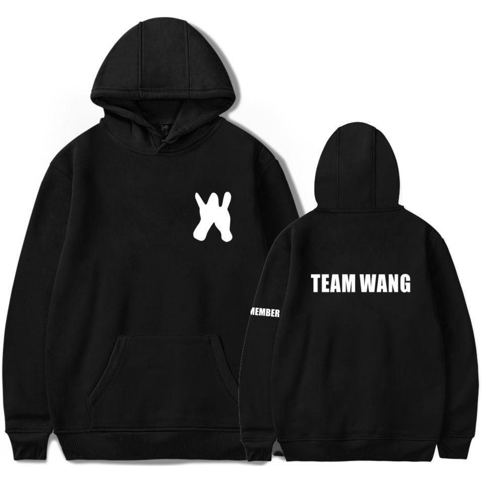 LUCKYFRIDAYF GOT7 Jackson team wang Hoodies sweatshirts printed casual pocket long sleeve men women hip hop hooded pullover tops