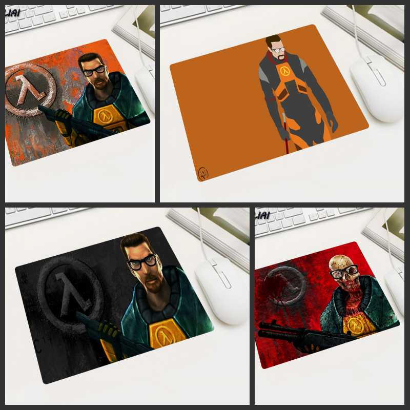 XGZ DIY Custom PC Small Size Mouse Pad Half Life Game Laptop Player Gaming Mousepad For Rainbow Six Siege Mass Effect Lol Mat