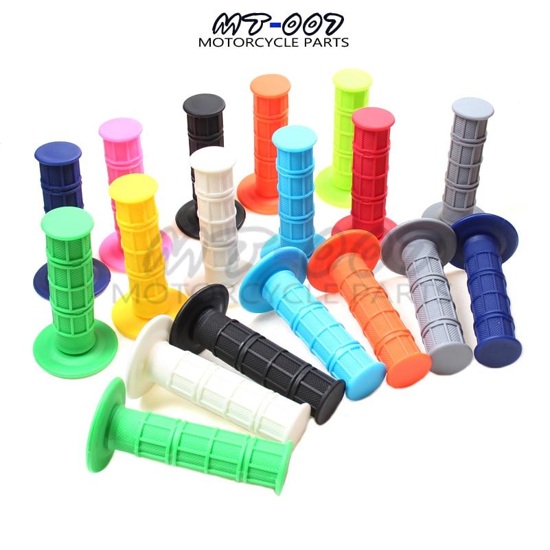"""Резиновые ручки на руль для мотокросса, 7/8 """"для мотоцикла CRF, YZF, WRF, KLX, SXF, RMZ, Pit, Байк, мотоцикла, бесплатная доставка"""