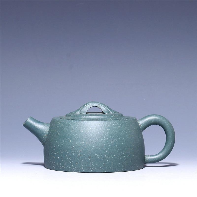 210ml venta al por mayor de mineral crudo de arcilla púrpura puer té negro tetera Yixing Zisha tetera de cerámica de barro verde envío gratis