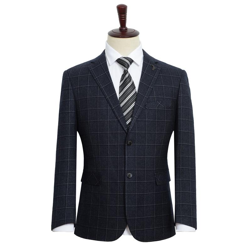 Big Size 5XL 6XL 7XL 8XL 9XL 2020 Spring New Men Casual Suit Business Fashion Loose Plaid Blazer Male Brand Clothes