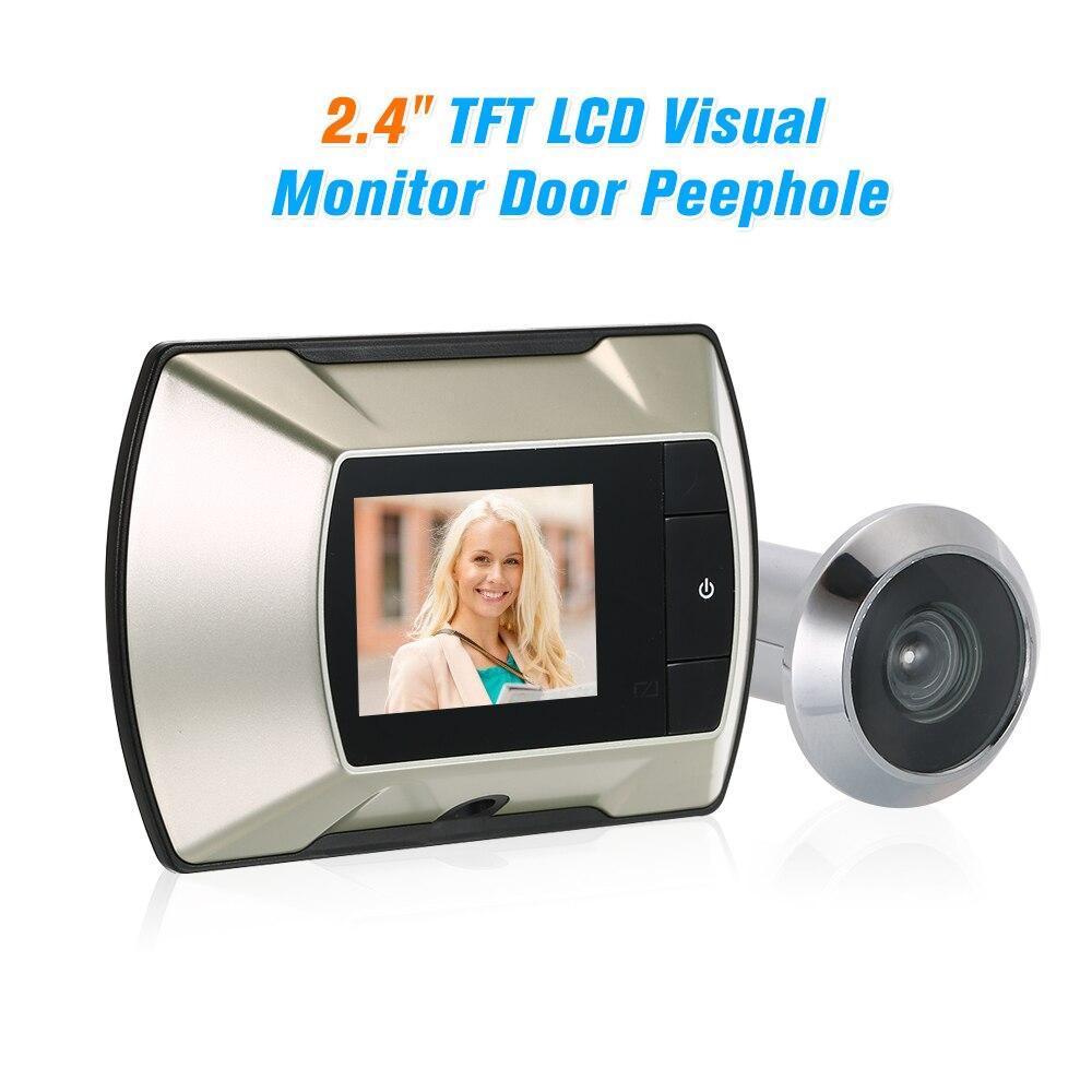 "2.4"" TFT LCD Visual Monitor Door Peephole Wireless Viewer Camera Digital Electric Peephole Doorbell Monitor"