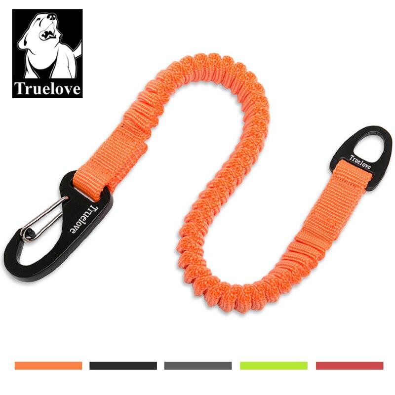 Correa corta de nailon para perro Truelove, cuerda para collar de perro, extensión retráctil para todo tipo de razas, entrenamiento, carrera, caminar TLL2971