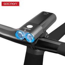 GACIRON étanche IPX6 vélo lumières vélo 1800 lumen cyclisme phare LED commutateur à distance lampe USB Rechargeable avant lumières