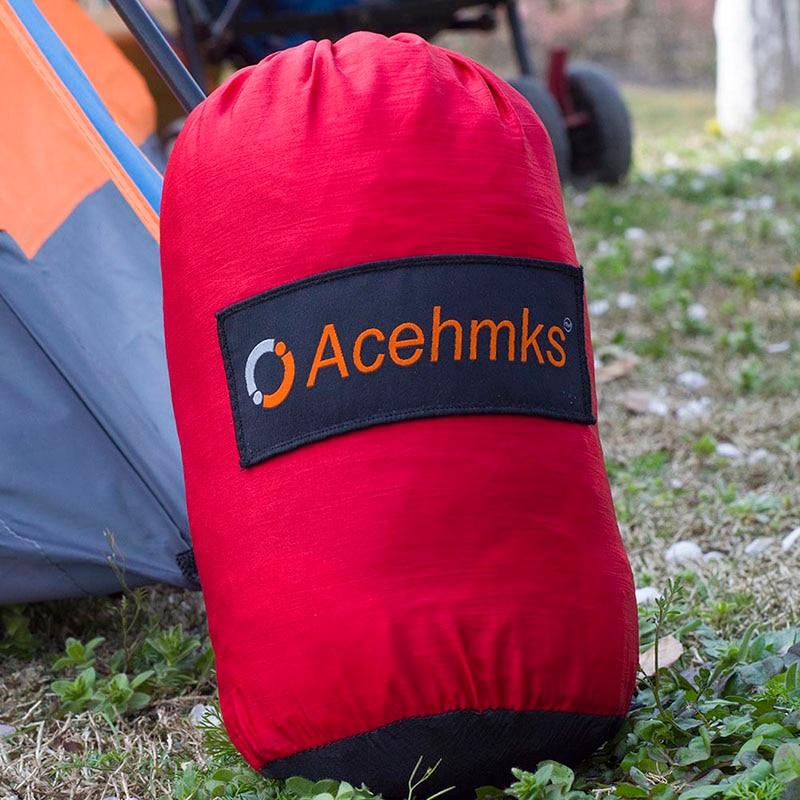 Doble 2 personas muebles de ocio viajes paracaídas hamacas hamaca exterior jardín deportes de acampada hogar viaje cama colgante