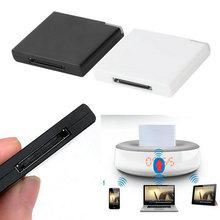 1 pcs Bluetooth A2DP Musique Récepteur Adaptateur pour iPod Pour liphone 30-Pin Dock Haut-Parleur Chaude Dans Le Monde Entier C1
