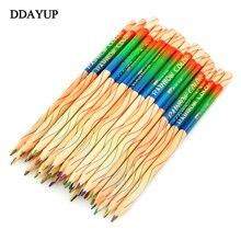10 Pz/lotto Arcobaleno Colorato Disegno A Matita Matite di Colore Per Le Penne Sationery Materiale Escolar Scuola Forniture