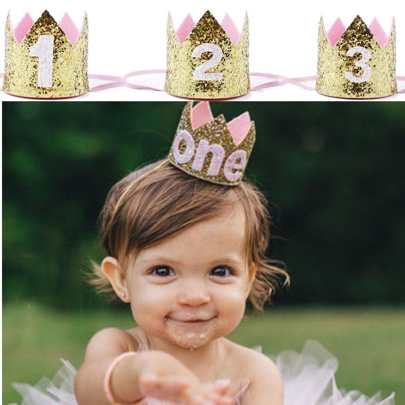 Детская шляпка ручной работы для вечеринки для мальчиков и девочек 1, 1, 2, 3, 1, 2, 3 лет, украшение для душа