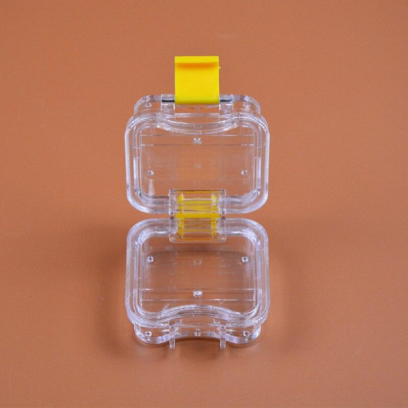 50 أجزاء/وحدة مختبر الأسنان مادة الأسنان صندوق الأسنان مع فيلم عالية الجودة الأسنان توريد أسنان صندوق تخزين غشاء الأسنان