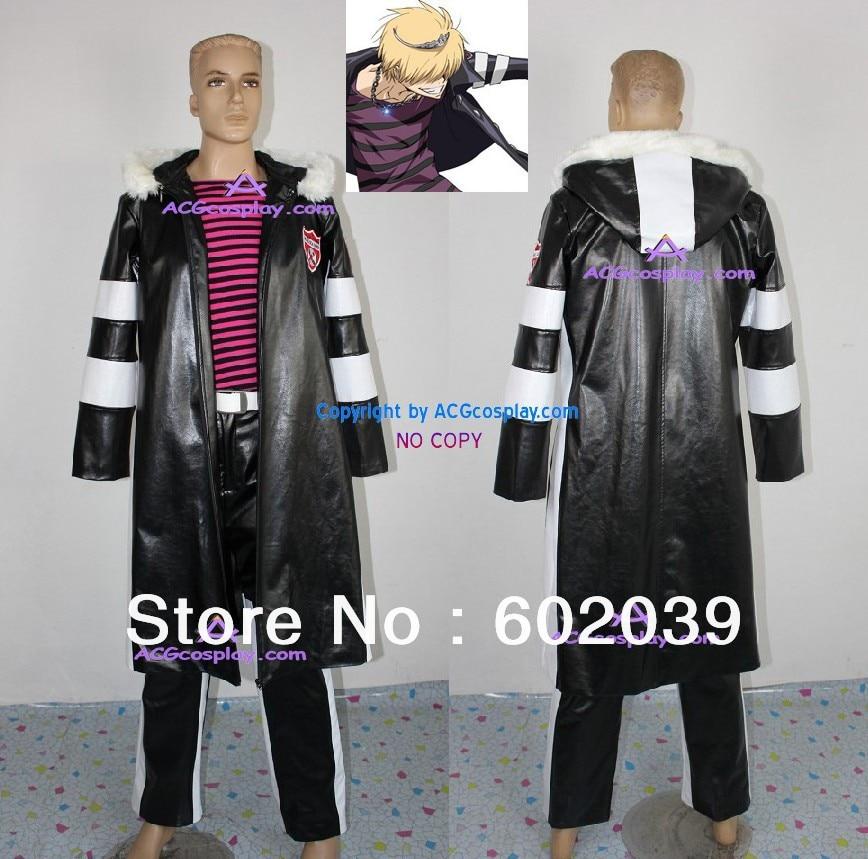 Katekyo Hitman Reborn! Belphegor cosplay costume GOOD quality faux leather made ACGcosplay