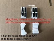 Original new 100% T handle mixer fader knob CAP slide fader potentiometer white red yellow black (SWITCH)