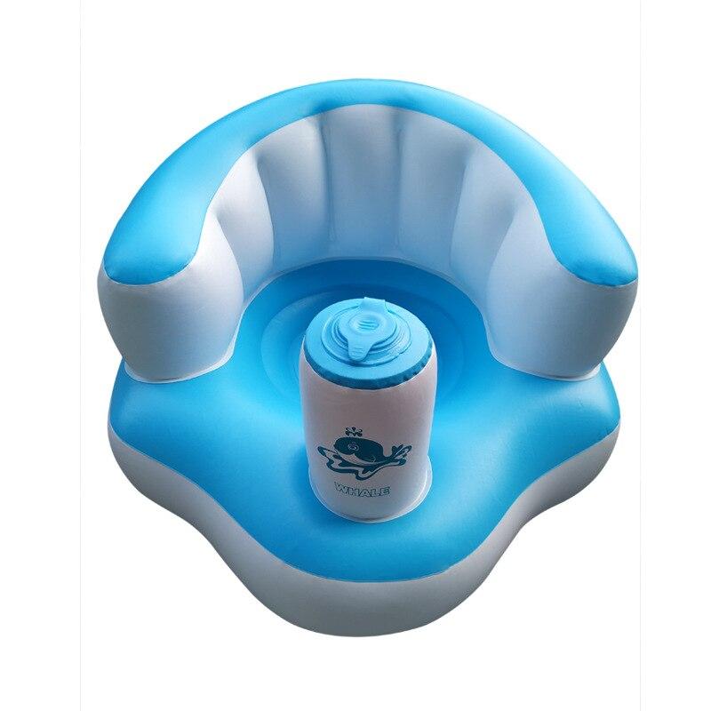 Портативное детское сиденье, обучающее сидение, надувное кресло для кормления, подушка для безопасности в помещении и на улице, диван, кресл...