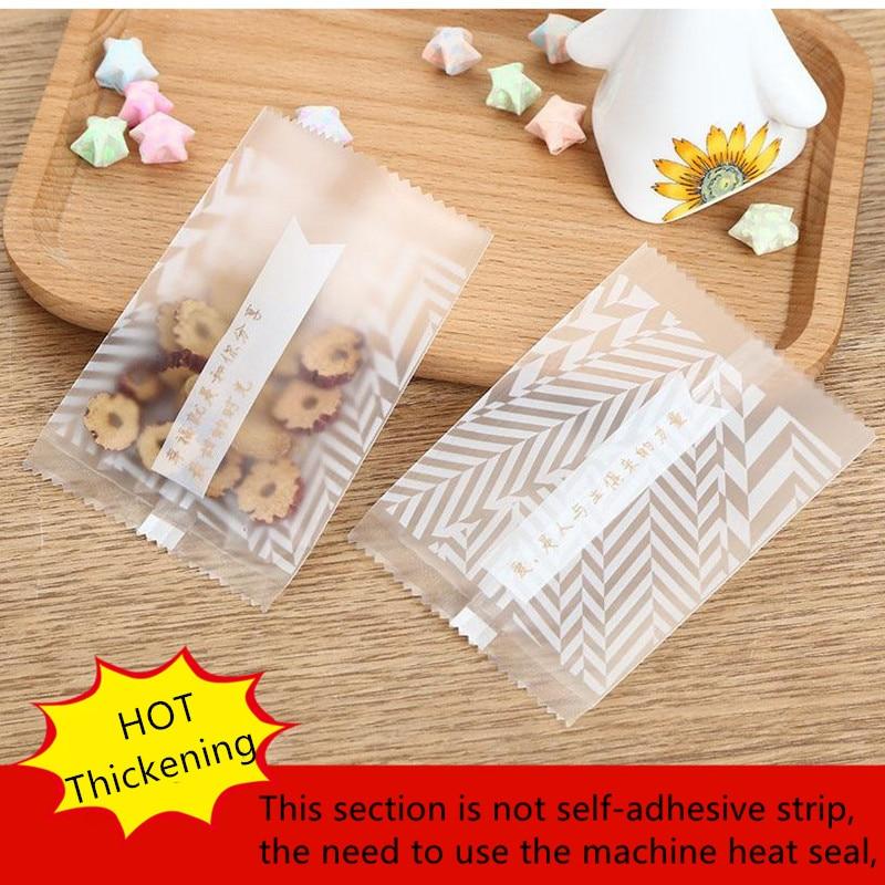 500 قطع البسكويت مخبز حلوى الشوكولاته هدية السيلوفان البلاستيك حقيبة نوعية جيدة حار مفيدة مريحة