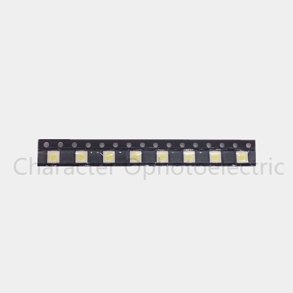 100pcs lot everlight 3030 smd led 1w 6v cold white for tv lcd backlight 3 0 3 0 0 8mm 50PCS/Lot 1W /2W 3535 3V /6V SMD LED Beads Cold white 90Lm High power for LCD/TV Backlight