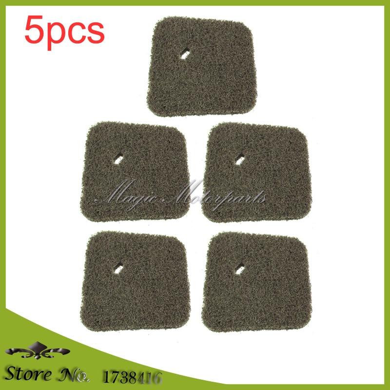 5x STIHL Filtro de Ar Para OEM 4140-124-2800 FC55 FS38 FS45 FS46 FS55 HL45 HL45 KM55 String trimmer