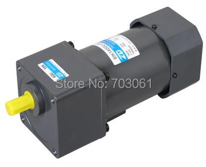180w 3 مراحل Ac220v و A 100:1 علبة التروس Ul Ce Rohs البضائع Ac محركات التروس التعريفي