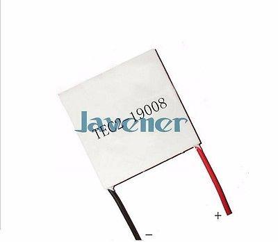 TEC2-19008 módulo termoelétrico da refrigeração da placa 12 v 7a 40x40mm do refrigerador peltier do dissipador de calor