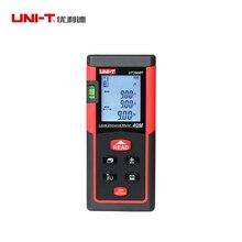 UNI-T UT390B + portátil telémetro láser 40M Medidor láser de distancia de rango de M/en/ft/área de cálculo de volumen