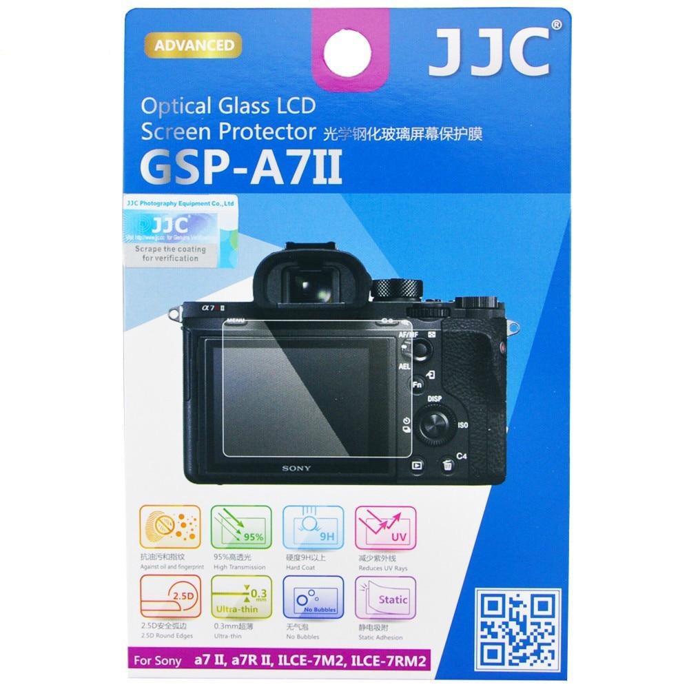 JJC Kamera LCD Haube Screen Protector für Sony a7R III a7R IV ZV-1 ILCE-7M2 ILCE-7RM2 A9 Anti-Blase Scratch burst 9H Gehärtetem