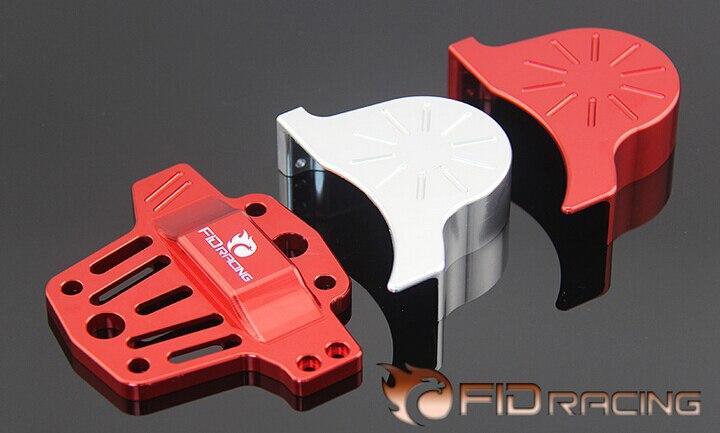 Fid Losi 5IVE T LOSI MINI WRC Centro diferencial brace V2 y equipo kit de cubierta (plata y color rojo disponible)