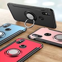 Shockproof Armor Case For Xiaomi Redmi 7 5 Plus Note 8 Pro Silicone TPU+PC Back Cover On Xiomi Mi A1