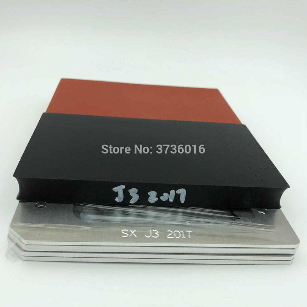 YMJ glass laminating mold for samsung J3 2017 oca polarizer film lcd fit vacuum laminating for mobile phone repair renovation