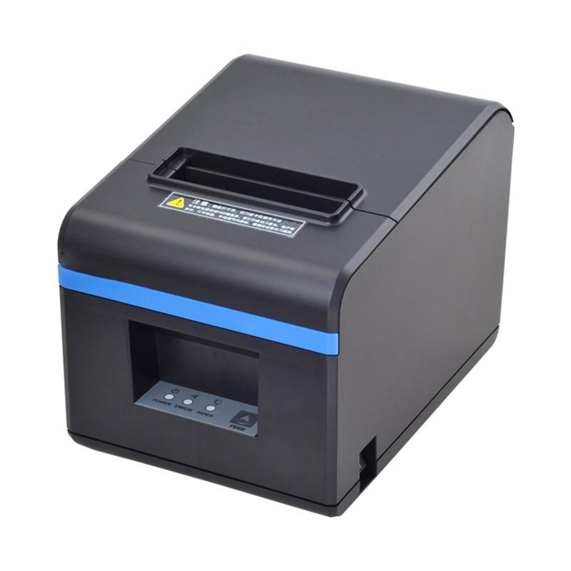 Xprinter-طابعة إيصالات حرارية 80 مللي متر ، قاطع تلقائي للمطاعم ، منفذ USB/إيثرنت ، متجر مطبخ ، ريستا