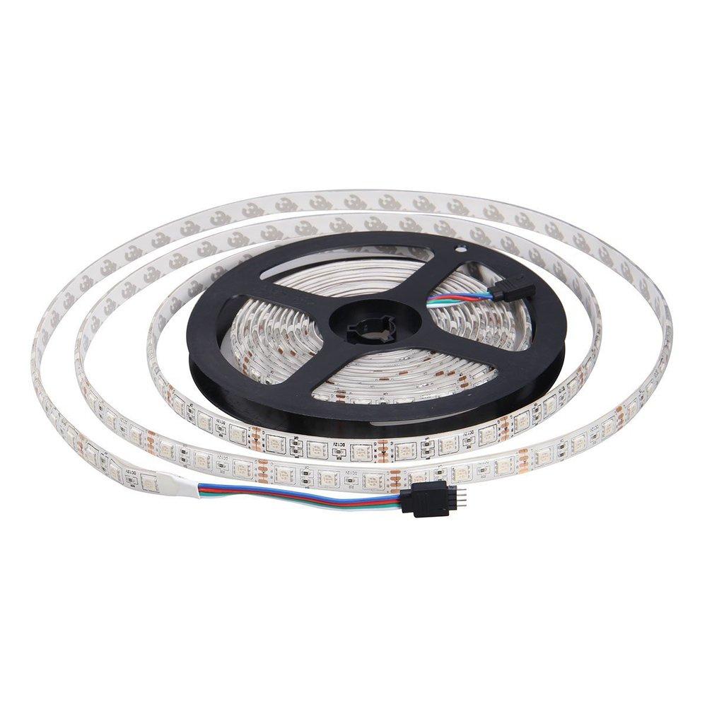 Dc 12 V 60 Leds / Meter SMD 5050 Cool White tira conduzida flexível impermeável luz Led Ribbon Freeshipping