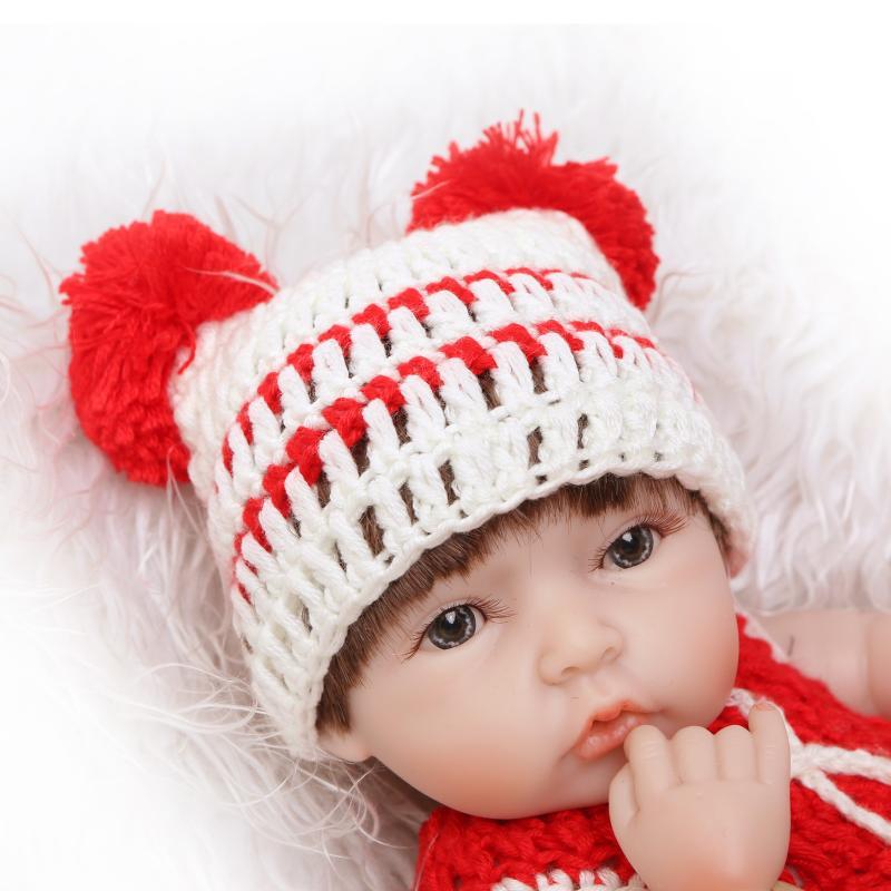 10 polegada peluches bonecas bebe reborn silicone macio corpo de vinil completo bebê brinquedos mini boneca gêmeos lavável bathtime lifelike brinquedos
