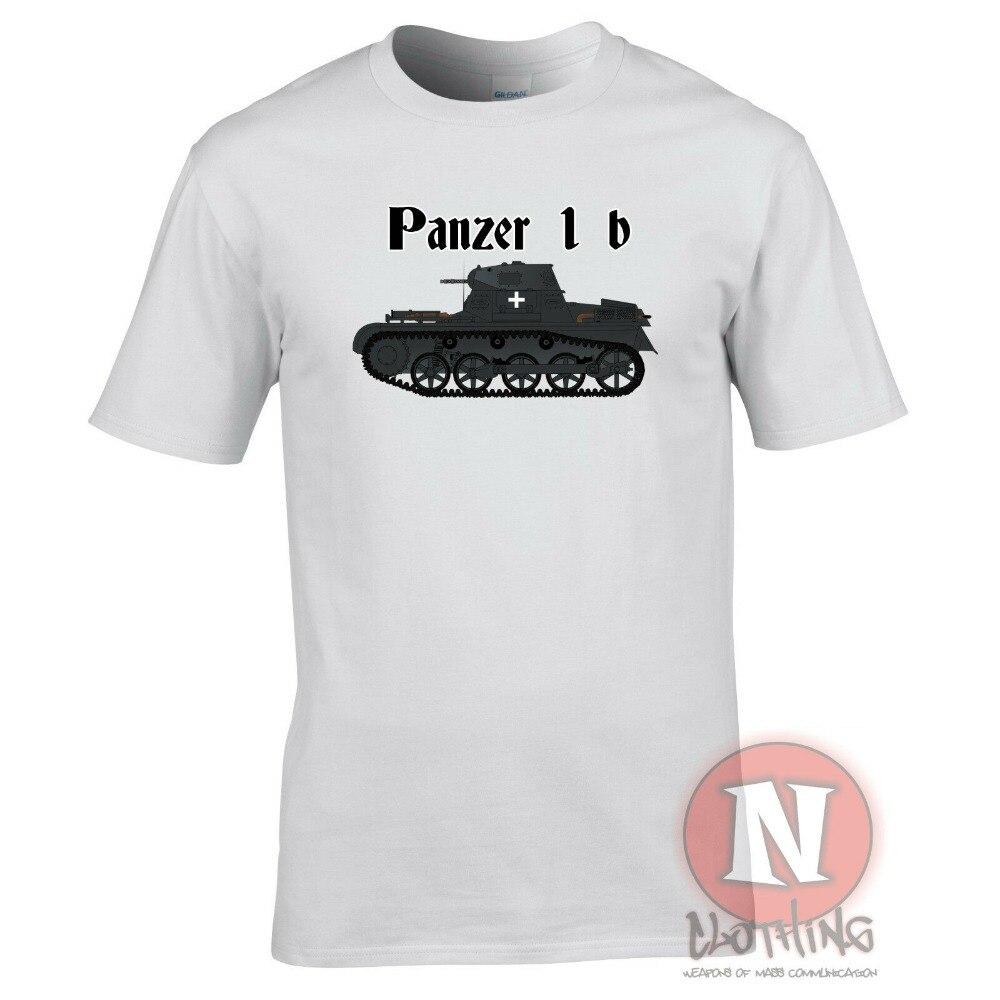 Panzer 1B Camiseta Tirantes Ww2 Militar Armadura Mundocasual hombres Outwears Diseño Popular Hip Hop Anime hombre