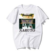 Naruto yeux et Akatsuki équipe T-shirt japonais Anime conception T-shirt 2019 mode nouveauté Style Cool haut T-shirt hommes T-shirt