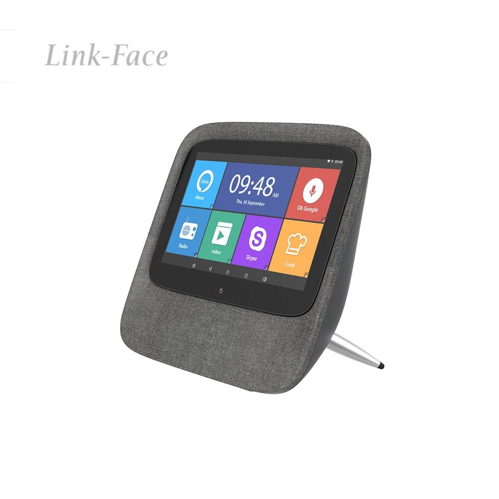 Altavoz inalámbrico con pantalla inteligente, Alexa portátil con pantalla táctil HD integrada, Radio por Internet, altavoz inteligente controlado por voz para el hogar