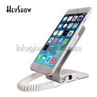 5pcslot charging mobile phone security display stand cellphone anti theft holder burglar alarm system for shopping mall