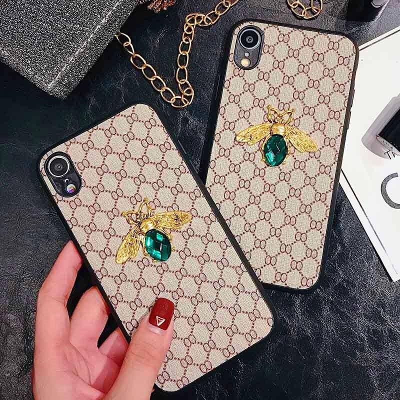 Luxury Bee Phone Case For Huawei Mate 30 PRO 10 Mate 20 P20 Pro P30 Lite Honor 10 8X 9X Nova 3I 4 5 Fashion Woman Brand Cover