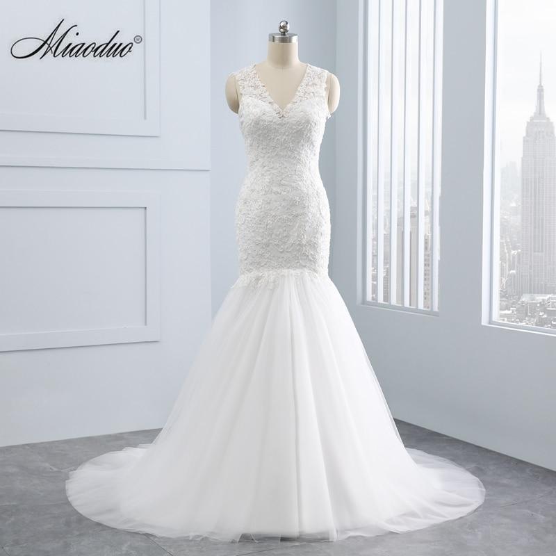 Gelinlik sereia vestido de casamento 2020 rendas apliques pérola lantejoulas beading plus size vestido de noite sereia alibaba loja varejo