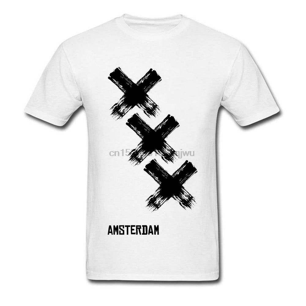 Camisetas blancas y negras para hombre, camisetas con gráfico de manga corta,...