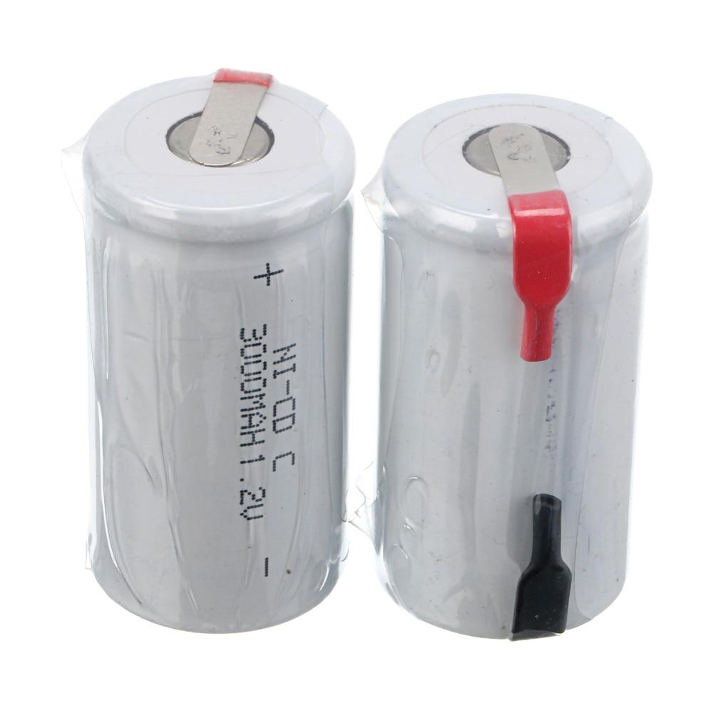 ¡Rusia Venta caliente color blanco! 9 Uds. Batería recargable ni-cd C 1,2 V 3000 mah
