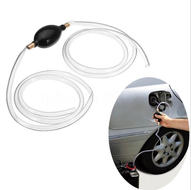 Nueva bomba de combustible de coche, bomba de gasolina, Diesel, líquido, mano, cebador de bomba, agua, aceite, bomba de transferencia, tubo de PVC Syphon 8mm, gran oferta